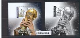 2006 - Coup Du Mond De Football - Germany - Bl + Bl Souvenir Perf.   BULGARIA / BULGARIEN