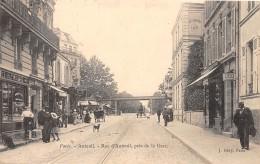 75 - PARIS 12 / Rue D' Auteuil Près De La Gare - Beau Cliché Animé - District 12