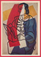 219162 / FRANCE  Art Joseph Fernand Henri Leger - PORTRAIT OF NADIA LEGER , BOOK ,  Russia Russie - Paintings