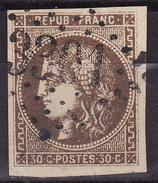 FRANCE 1870  Mi 42a GC 3301 SARLAT  USED - 1870 Bordeaux Printing