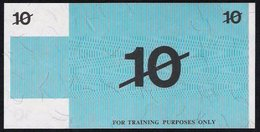"""Test Note """"BANK OF AUSTRALIA"""" 10 Units, Testnote, RRRR, UNC, Special Paper - Australien"""