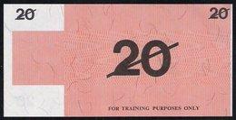 """Test Note """"BANK OF AUSTRALIA"""" 20 Units, Testnote, RRRR, UNC, Special Paper - Australien"""