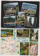 2  CPSM 10X15 Du JURA (39) - REGION Des LACS -SOUVENIR - VUES DIVERSES - N° U80774/1439 -- 1961/1968 - France