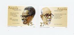 Angola 2003-Ecrivains Angolais-YT 1546/7***MNH- - Escritores