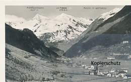 AK Panorama Ambri-Piotta - Schweiz