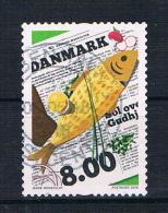 Dänemark 2016 Fische Einzelmarke Gest. - Dänemark