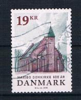 Dänemark 2016 Kirche Einzelmarke Gest. - Dänemark