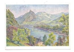 5480 REMAGEN - ROLANDSECK, Künstler-Karte Karl Petau,1956 - Remagen