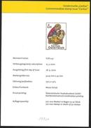 Austria/Autriche: Bollettino Delle Poste, Post Information Bulletin, Bulletin D'information De La Posta, Vetrata, Glass - Vetri & Vetrate