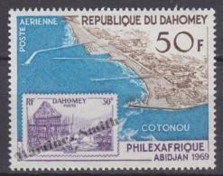 Dahomey 1968 Yvert A 98, Philatelic Exhibition Philexafrique At Abidjan - Air Mail - MNH