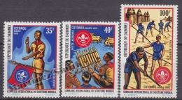 Dahomey 1972 Yvert A 160-62, Scouting International Seminar - Air Mail - MNH