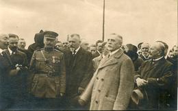 Fort De Loncin 1919 Discours Président Conseil Municipal De Paris M. Evain Photo Carte Général Foch - Photographs