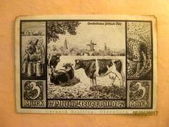 Germany: Notgeld - Jever 3 Mark - 1918-1933: Weimarer Republik