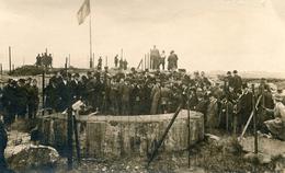 Fort De Loncin 1919 Présence Du Roi Albert, Reine Elisabeth Conseiller Farnçais Photo Carte Général Foch - Photographs