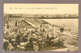 Heyst - Sur - Mer  -  Heist  :   Le Lac Et La Terrasse Du Chalet Belle Vue - Heist