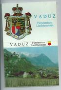 Mapje Booklet 9 X Ansicht Postkaart Lichtenstein Vaduz 1950- 1960 - Liechtenstein