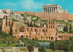 ATHENES -  GRECE - La Façade Du Theâtre De Herode Atticus - Grecia