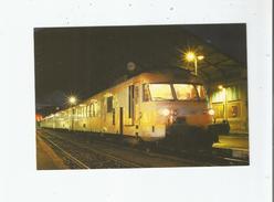 """GARE DE PERIGUEUX TURBOTRAIN RTG T 2000 N° 2013 """"RIORGES"""" TRAIN N° 865345 PERIGUEUX-BORDEAUX 28 10 2004 - Périgueux"""