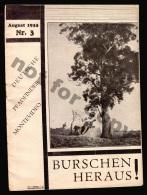 1933 DEUTSCHE PFADFINDER MONTEVIDEO URUGUAY RRRR 2 MAGAZINE ISSUE (libros) - Books, Magazines, Comics