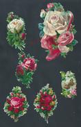 LOT DE DECOUPIS FLEURS : - Flowers