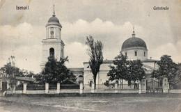 BASARABIA : ISMAIL / IZMAIL - CATEDRALA / THE CATHEDRAL - CARTE POSTALE VOYAGÉE : 1924 / POSTCARD MAILED In 1924 (v-895) - Ukraine