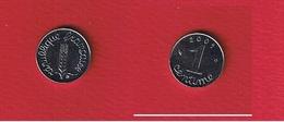 Epi  --  1  Centime 2001  --  état  SPL - France