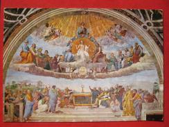 Roma / Citta Del Vaticano (RM) - Stanze Di Raffaello: La Disputa Del SS. Sacramento - Vatikanstadt