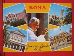 "Roma / Citta Del Vaticano (RM) - Mehrbildkarte ""Roma - Joannes Paulus PP II"" - Vatikanstadt"