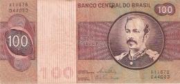 BRESIL   100 Cruzeiros   ND (1981)   Sign.20   P. 195Ab - Brésil