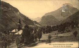 N° 3558 QQQ LR SAINT COLOMBAN DES VILLARDS VUE SUR LE COL DU GLANDON - France