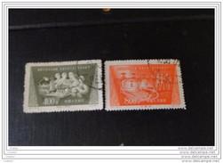 Chine 1954 Y/T N° 1030 Et 1031  MH* Pour Le Développement Technique - 1949 - ... République Populaire