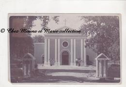 EMPIRE DES INDES 1911 PAKISTAN ACTUEL - MULTAN MOULTAN - L EGLISE - POUR PILLON MARQUETTE LEZ LILLE NORD - CARTE PHOTO - Pakistan