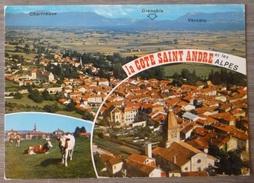 LA CÔTE SAINT-ANDRE (38). MULTIVUES. ANNEES 1980.TBE - La Côte-Saint-André