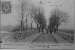 Lury Sur Arnon : Route De Lury à Chéry, Vue Prise Du Pont - Autres Communes