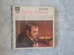 J'AIME CHARLES AZNAVOUR VOL 1 LP DE 196?. VARIANTES . NOUVELLES ORCHESTRATIONS.LANGUETTE.GILBERT BECAUD - Andere - Franstalig