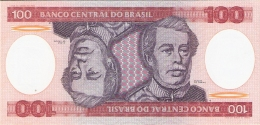 BRESIL   100 Cruzeiros   ND (1981)   Sign.20   P. 198a   UNC - Brasilien
