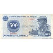 TWN - ANGOLA 116 - 500 Kwanzas 14.8.1979 Replacement Z/A 309077 VG/F - Angola