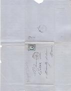 10 Nogent Sur Seine - Lettre Commerciale Boucherot De 1876 Avec Tp 60 Et Cachet Ambulant  Paris à Belfort PB Sur Le Tp. - Poste Ferroviaire
