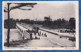 CPA - DIGOIN - Pont Aqueduc Sur La Loire - 1949 - Péniche - Batellerie - Bateau - Ship - Boat - Canal - Hausboote