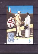 1696  Général De Gaulle 1890 1970 *CARTE MAXIMUM *60/40* - 1970-79