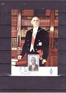 """1697  Général De Gaulle """"1890 1970""""  Portrait Officiel Du Président De La République *CARTE MAXIMUM *60/40* - 1970-79"""