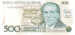 BRESIL   500 Cruzados   ND (1988)   Sign.26   P. 212d   SUP - Brazil