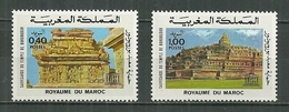 MAROC MNH  ** 754-755 Suvegarde Du Temple De BOROBUDUR - Marokko (1956-...)