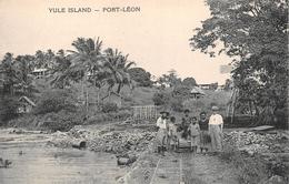 ¤¤   -   PAPOUASIE - NOUVELLE-GUINEE  -  YULE-ISLAND   -  PORT-LEON  -  ¤¤ - Papua New Guinea