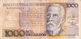 BRESIL   1000 Cruzados  ND (1987).   Sign.25   P. 213a - Brasilien