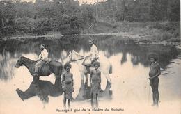 ¤¤   -   PAPOUASIE - NOUVELLE-GUINEE  -  Passage à Gué De La Rivière Du Kubuna  -  ¤¤ - Papouasie-Nouvelle-Guinée