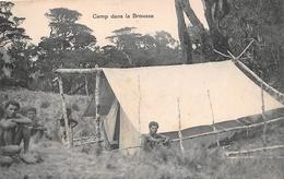 ¤¤   -   PAPOUASIE - NOUVELLE-GUINEE  -  Camp Dans La Brousse   -  ¤¤ - Papouasie-Nouvelle-Guinée