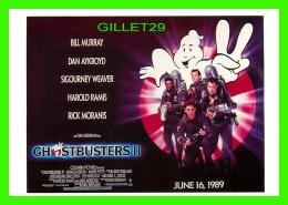 AFFICHES DE FILM - GHOSTBUSTERS II - JUNE 16, 1989 - ÉDITIONS AVANT GARDE - - Affiches Sur Carte