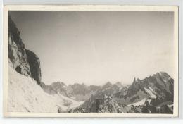 Italie - Italia - Italy - Val Aosta Carte Photo Montagne écrite Par Un Alpiniste 1952 Voir Scan Dos - Italia