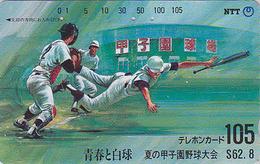 Télécarte Japon / NTT 330-074 - Sport - BASEBALL - Sports Japan Phonecard Telefonkarte - Japon